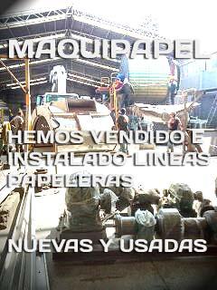 MAQUINAS PAPELERAS